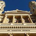 St. Ignatius Catholic Church by Jeff Lowe
