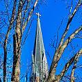 St. Marys Church Steeple Of St Marys Church by Mark Dodd