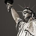 Statue Of Liberty by Richard Cummins