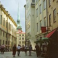 Stockholm City Old Town by Ted Pollard