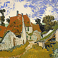 Street In Auvers-sur-oise by Mountain Dreams