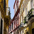 Streets Of Seville - Magic Colours by Andrea Mazzocchetti