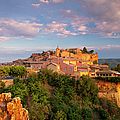 Sunrise Over Roussillon by Brian Jannsen