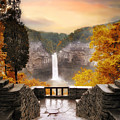 Taughannock Falls by Jessica Jenney