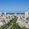 Tel Aviv Israel Elevated View by Sv