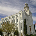 Temple Saint George Utah by Nathan Abbott