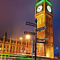 The Big Ben - London by Luciano Mortula