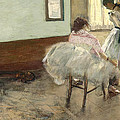 The Dance Lesson by Edgar Degas