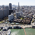 The Embarcadero And Downtown, San by Dave Cleaveland