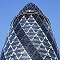 The Gherkin Building In London England by Robert Preston