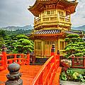 The Golden Pagoda, Nanlian Gardens by Peter Stuckings