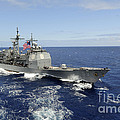 The Guided-missile Cruiser Uss by Stocktrek Images