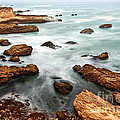 The Jagged Rocks And Cliffs Of Montana De Oro State Park In California by Jamie Pham