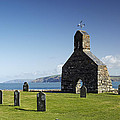 The Ruined Church Of St Brynach At Cwm Yr Eglwys by Premierlight Images