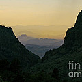 The Window At Sunset In Chisos Mountains Of Big Bend National Park Texas by Shawn O'Brien