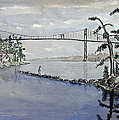Thousand Islands Bridge by Robert P Hedden