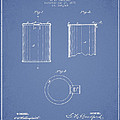 Tin Can Patent Drawing From 1878 by Aged Pixel