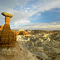 Toadstool Caprocks Grand Staircase by Tim Fitzharris