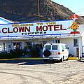 Tonopah Nevada - Clown Motel by Frank Romeo