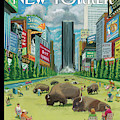 New Yorker August 27th, 2012 by Bruce McCall