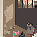 New Yorker February 15th, 2010 by Chris Ware