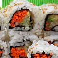 Vegetable Sushi by Amy Cicconi