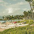 Wailea Beach Maui Hawaii by Sharon Mau
