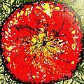 Wall Of Heavenly Flowers by Baljit Chadha