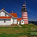 West Quoddy Lighthouse by Skip Willits