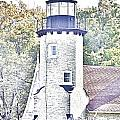 White River Light Station by Bill Richards