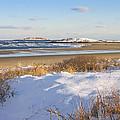 Winter At Popham Beach State Park Maine by Keith Webber Jr