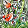 Zenmoksha Flowers by Baljit Chadha