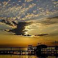 An Outer Banks Of North Carolina Sunset by Richard Rosenshein