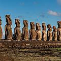 Easter Island Moai by Ben Adkison
