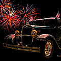 31 Five Window Coupe On The Fourth Of July by Chas Sinklier