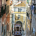 The Bica Funicular by Andre Goncalves