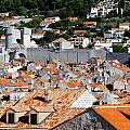 Views Of Dubrovnik Croatia by Richard Rosenshein