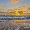 Ocean Beach Pier Sunset by Roman Gomez