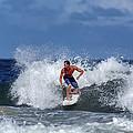 Surfing Fun by David Faison