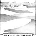 The Great Las Vegas Coke Dunes by Matthew Diffee