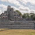 Edzna In Campeche by Carol Ailles