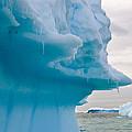 Iceberg, Antarctica by John Shaw
