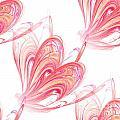 Seamless Background Fractal by Henrik Lehnerer