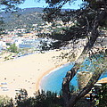 Tossa De Mar Costa Brava by Kevin F Cook