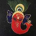 34 Ganadhakshya Ganesha by Kruti Shah