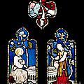 Religious Stained Glass Window by Luis Alvarenga