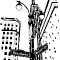 34th And Broadway by Candace Stalder