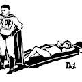 Captionless; Superhero Sunblock by Drew Dernavich