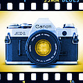 35mm Blues Canon Ae-1 by Mike McGlothlen