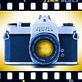 35mm Blues Pentax Spotmatic by Mike McGlothlen